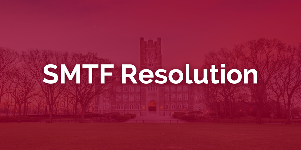 SMTF Resolution | USG Sexual Misconduct Task Force